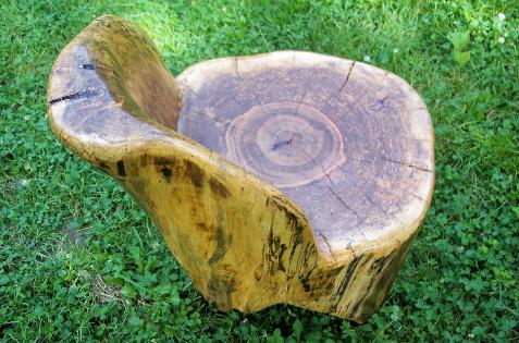 Log chair, rustic, ted frumkin, woodworker, pottery barn,