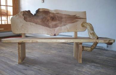 Maple Bench, Ted Frumkin, www.around-the-bend.com